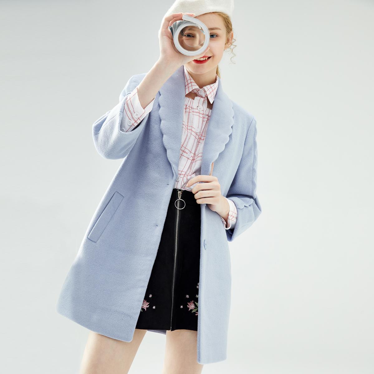 Lecho 2018 mùa thu và mùa đông phụ nữ Hàn Quốc phiên bản của áo len nữ phần dài dày sinh viên áo len thủy triều