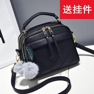 Мисс пакет пакет 2019 новый волна личность модные женщины пакет корейский дикий маленький квадрат ручная сумку упоминание плечо сумка