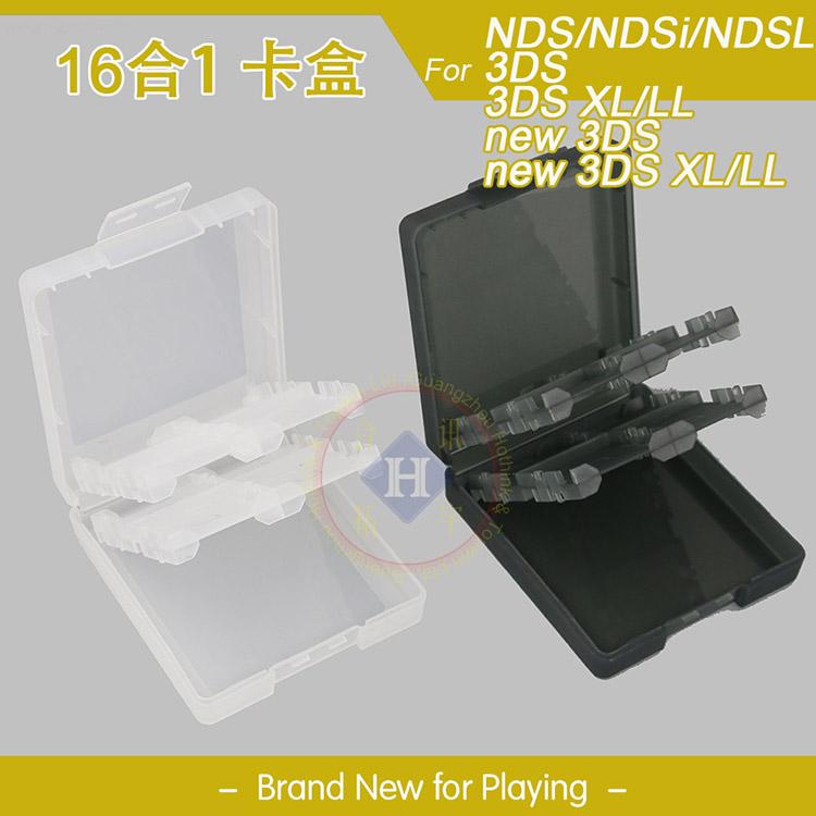 Hộp thẻ trò chơi 3DSXL MỚI Hộp lưu trữ trò chơi 3DS MỚI 3DSLL Hộp băng cassette DSI phổ DSI - DS / 3DS kết hợp