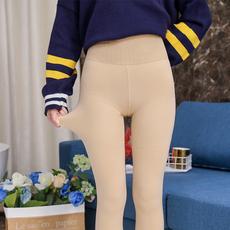 实拍光腿神器3.0 一体加绒高腰保暖打底裤A622#