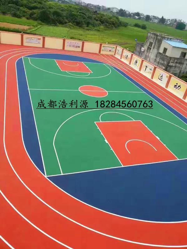 硅pu篮球场材料厂商塑胶球场材料硅PU篮球场施工塑胶球场硅pu材料
