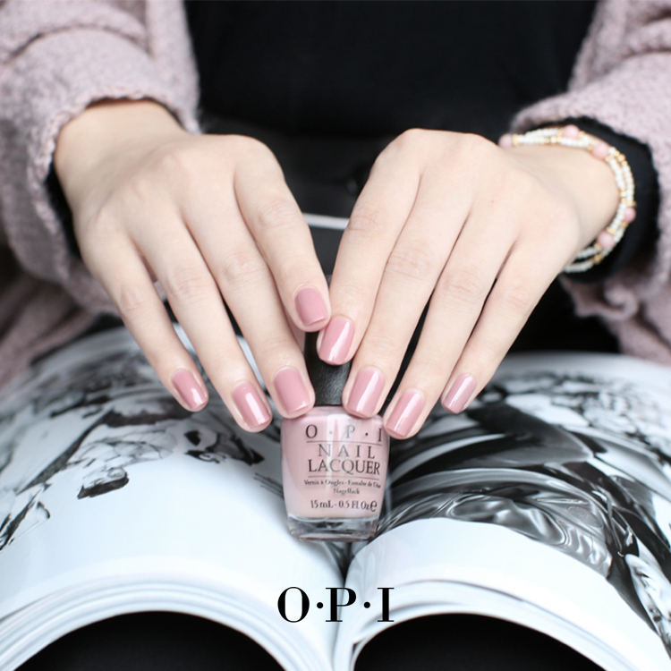 American OPI Nail Polish Nude Color First Known French Varnish ...