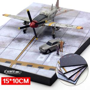 Tĩnh máy bay mô hình sân bay đường băng nền tảng cảnh boong cảnh quan lực lượng không quân sân bay tạp dề quân sự bảng cát