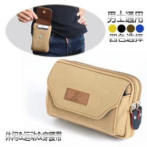 Túi điện thoại di động vải mặc vành đai túi chạy túi túi điện thoại di động giải trí túi người đàn ông của túi nhỏ