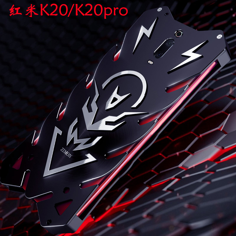 SIMON New THOR II Aviation Aluminum Alloy Shockproof Armor Metal Case Cover for Xiaomi Redmi K20 Pro & Xiaomi Redmi K20