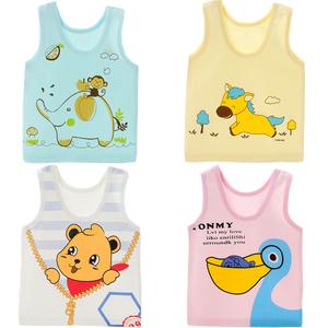 Bé sơ sinh vest bé vest bé vest 0 mùa hè 1 dưới 3 phần mỏng 6 nam 9 nữ 12 tháng 1 tuổi 2