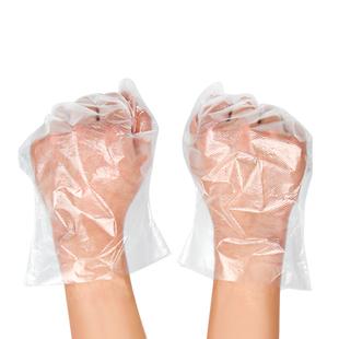 【100只】一次性塑料透明加厚手套