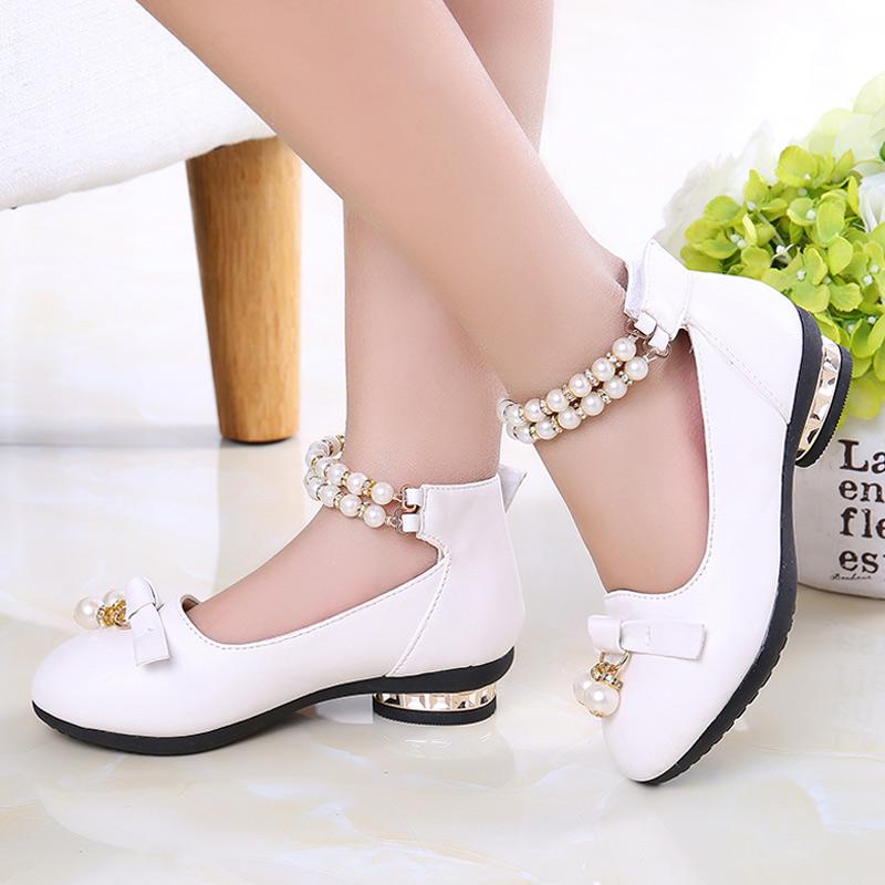 f90b313ab8a Купить Кожаные ботинки. Детская обувь Обувь для девочек весной и ...