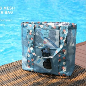 Du lịch trong suốt túi bơi khô và ướt tách bãi biển túi nữ di động tắm quần áo túi rửa không thấm nước lưới