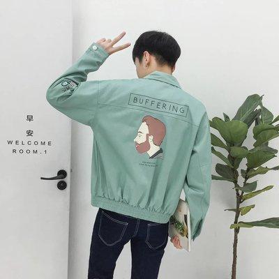 Của nam giới 2017 new slim áo khoác sinh viên Hàn Quốc mùa hè quần áo bóng chày xu hướng mùa xuân và mùa thu đẹp trai áo giản dị