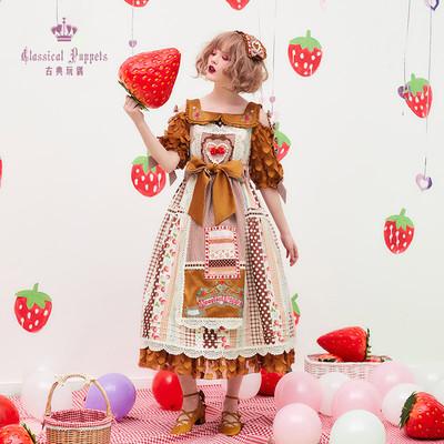 taobao agent Ono Berry OP Classical Doll Lolita Dress Spot