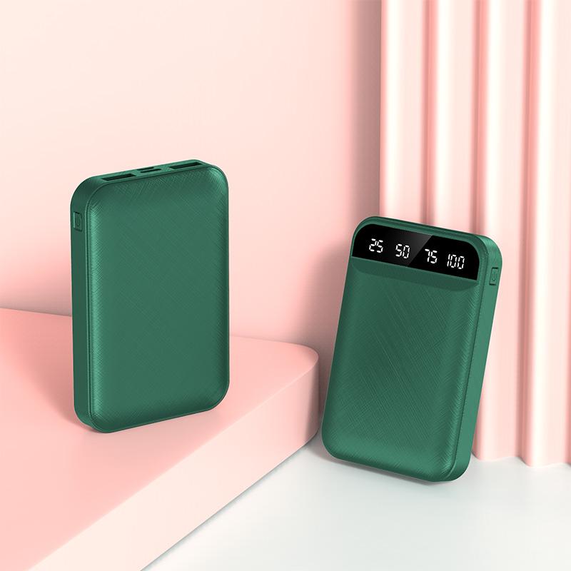 迷你充电宝20000M毫安超薄便携带线