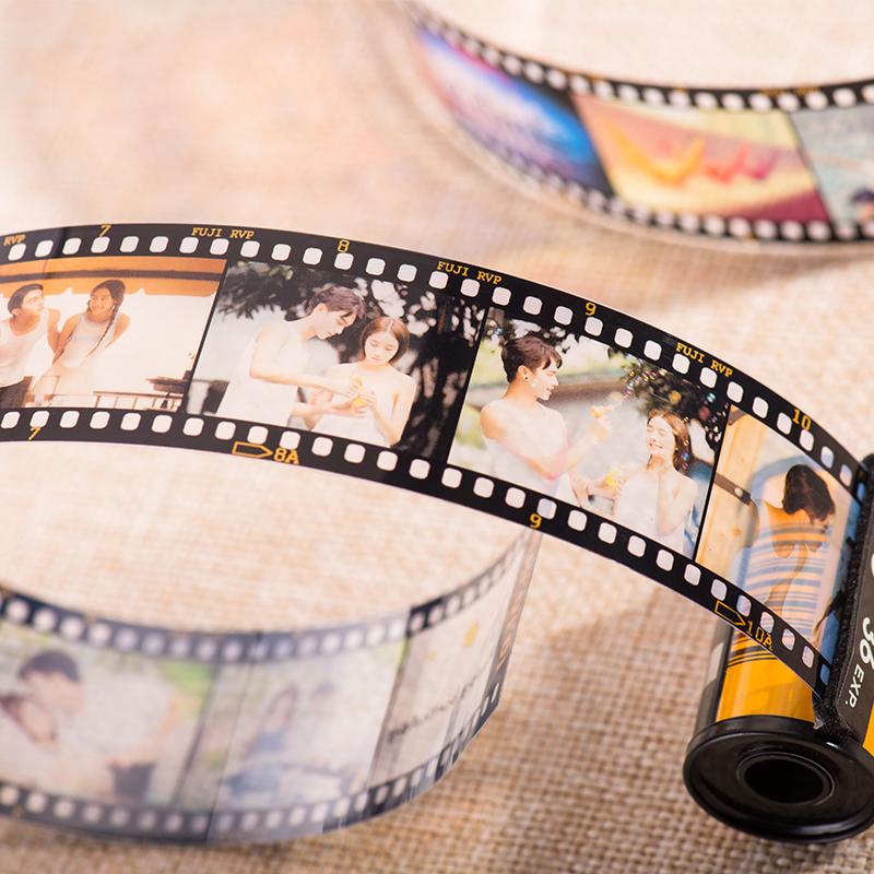 抖音礼物:彩色胶卷照片影集