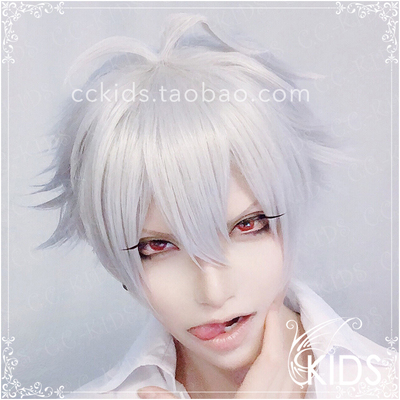 taobao agent 【CCKIDS】[DRB Hypnosis Microphone Small rap] MTC Bi coffin left horse carved COSPLAY Wig