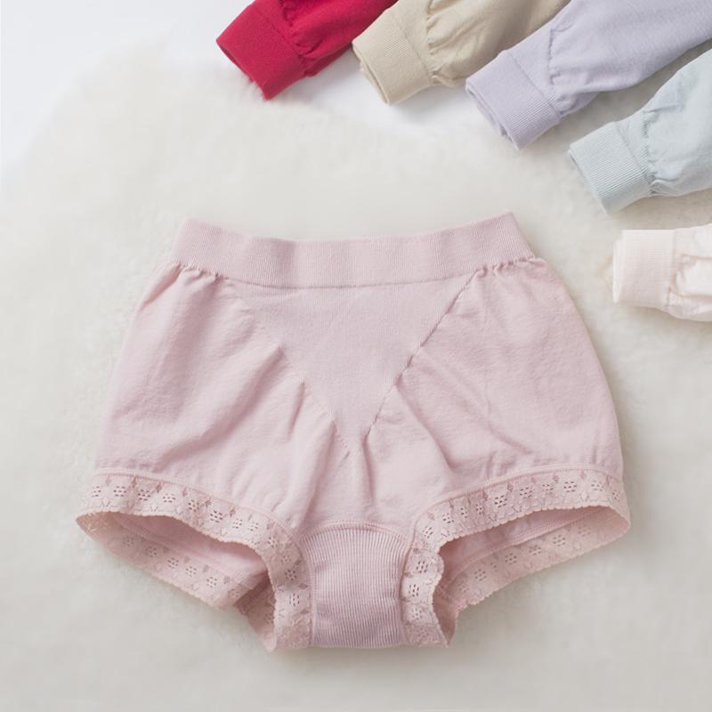 [Ưu đãi đặc biệt] Đồ lót cotton co giãn thoải mái cho nữ quần lửng midi ren gợi cảm - Giữa eo