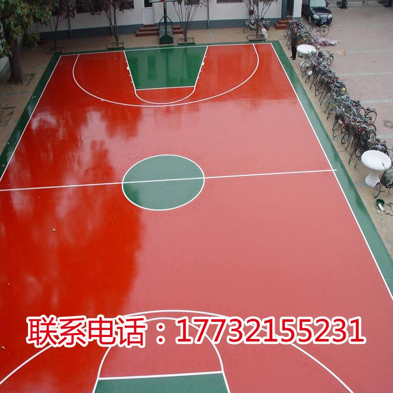 水性硅PU篮球场硅PU球场施工硅PU乒乓球场网球场水性硅PU环保材料