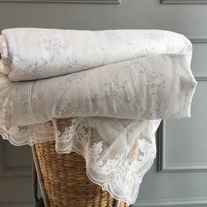 Mùa hè của Mỹ mát mẻ bởi Tencel xuất khẩu điều hòa không khí đã được mỏng chăn mùa hè là đôi rửa máy giặt ren sọc đơn giản