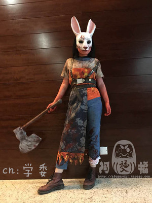 taobao agent 【Afu】Death by Daylight sister rabbit cos costume /cosplay