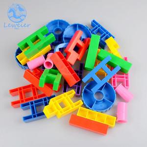 多功能拼接积木幼儿园早教园儿童桌面益智玩具环保塑料拼插积木