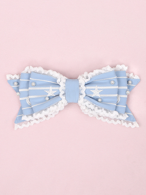 taobao agent 【To Alice】S1390 original star and moon color cloud series big hairpin