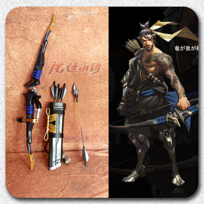 taobao agent 【Long Ting】Overwatch Hanzo cosplay props/Hanzo cos Hanzo bow