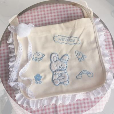 taobao agent Lolita element soft sister canvas bag everyday all-match diagonal bag Lolita bag