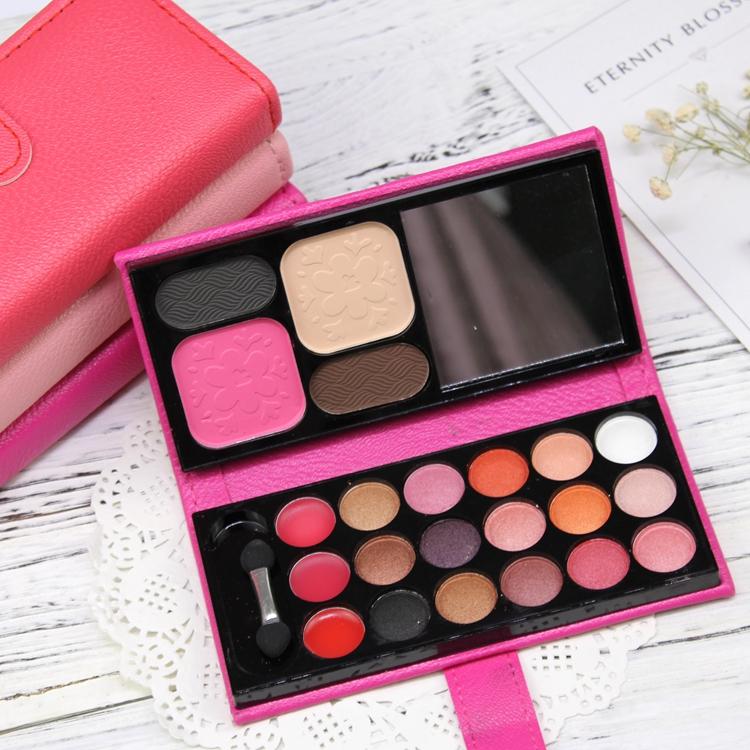 Eyeshadow khay 22 kết hợp màu sắc môi màu bưởi trái đất màu ngọc trai bóng mắt trang điểm thiết lập bộ đầy đủ của chính hãng người mới bắt đầu