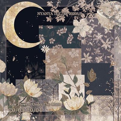 taobao agent Moonlight Flower Collection Collection NyaNya Original Lolita Dress