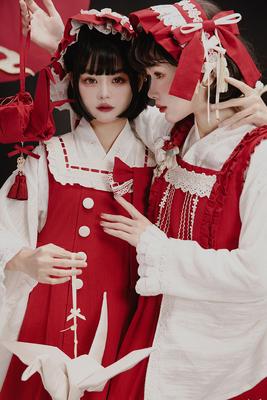 taobao agent Tsubaki Love Song Collection Collection NyaNya Original Lolita Dress
