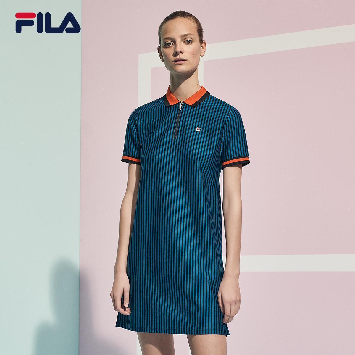 Lấy FILA Fila nữ ăn mặc đồng thương hiệu mùa xuân mới thể thao váy nữ | 26736204