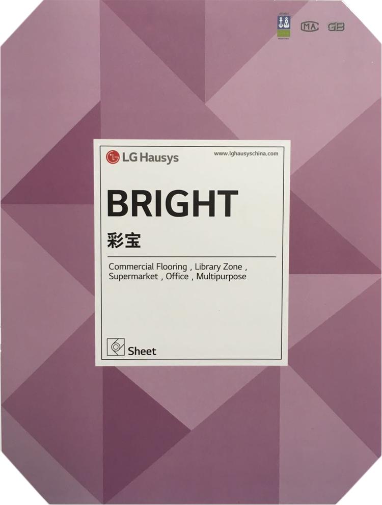 正品LG彩宝PVC塑胶地板1.6mm办公写字楼场所地面材料地板革现货