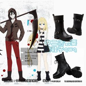 Giết chết thiên thần COS quần áo Ruiyi ray Ai Zike zack Zack cosplay giày boots Ruijier