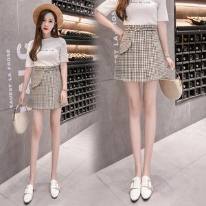 【实拍】6319# 2018夏季新款韩版短裙修身显瘦半身裙女