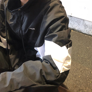 Ông Fang inch 18 chàng trai mùa xuân Hàn Quốc phiên bản của quá khổ áo khoác hit màu khâu áo khoác nam thanh niên áo khoác những người yêu thích