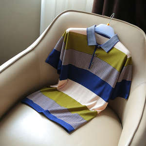 1-61803 (2 miếng 3 miếng trừ 10 5 miếng trừ 20) phúc lợi gia đình mượt người đàn ông thở của áo polo