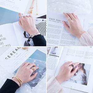 Qitian Dasheng Ngộ Không chặt chẽ chính tả lời nguyền vàng hoop stick bracelet nhẫn set retro nam giới và phụ nữ vài vòng tay trang sức