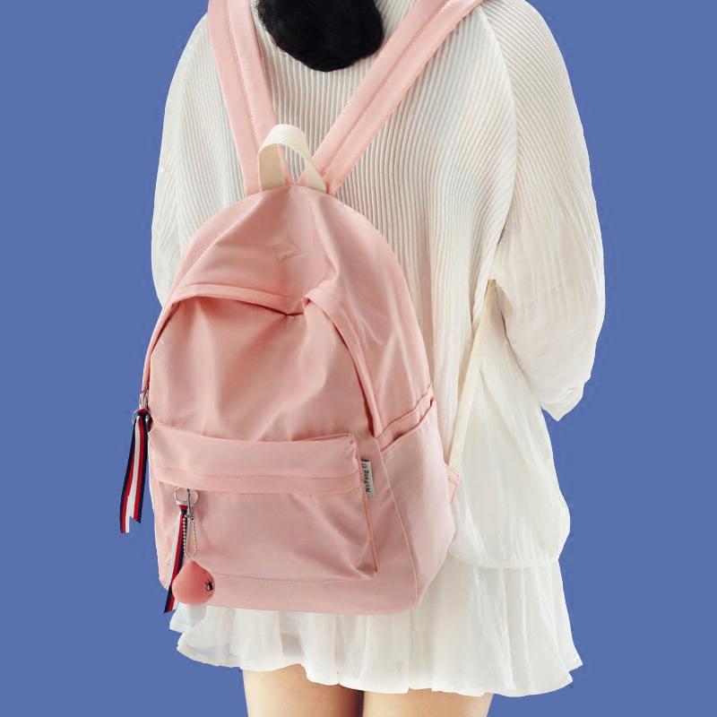 Shallow thanh niên ins cô gái túi trái tim nhỏ tươi vai túi nữ Hàn Quốc phiên bản của giải trí cao đẳng gió sinh ba lô
